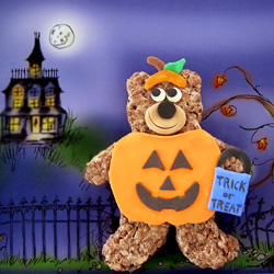 Cocoa Krispies Trick or Treat Bear