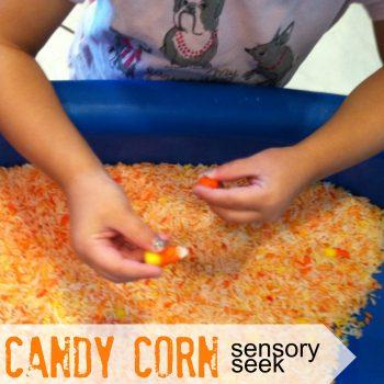 Candy Corn Sensory Seek