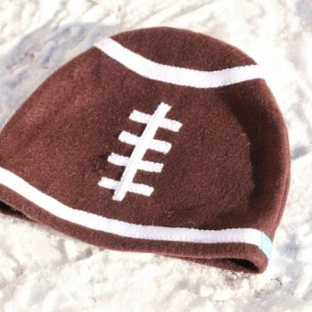 Fleece Football Hat