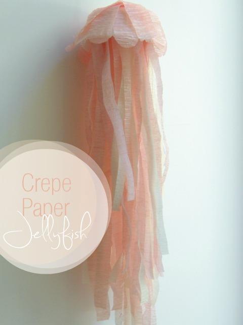 Crepe Paper Jellyfish
