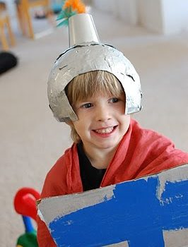 Homemade Knight Shield