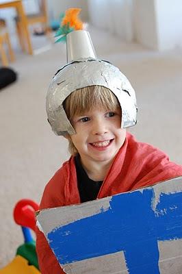 Homemade Knight Costume  sc 1 st  Fun Family Crafts & Homemade Knight Costume | Fun Family Crafts