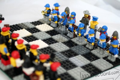 Lego Chess | Fun Family Crafts