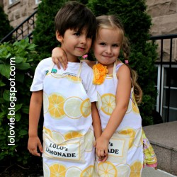 Dish Towel Apron for Toddlers