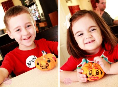 Mini Monster Pumpkins