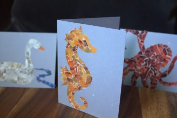 Mosaic Scrap Cards
