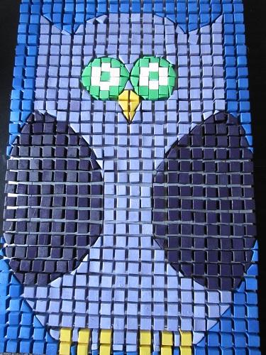 Owl Mosaic