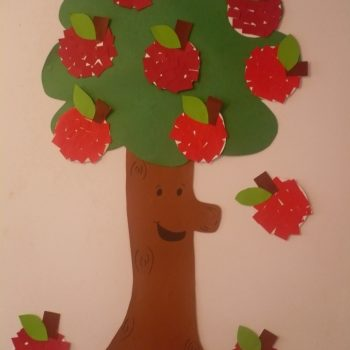Paper Apple Tree