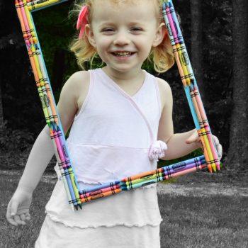Crayon Photo Frame