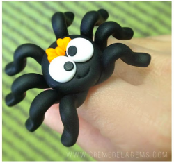 Polymer Clay Spider