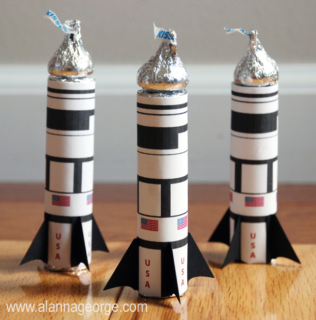 Space Shuttle Party Treat