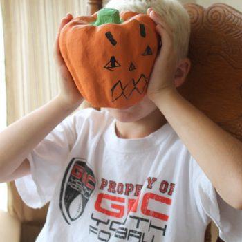 Kid's Art Pumpkin