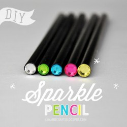 Sparkle Top Pencil