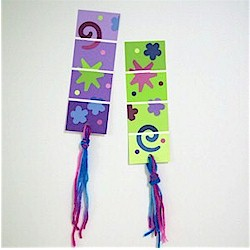 Paint Chip Bookmark