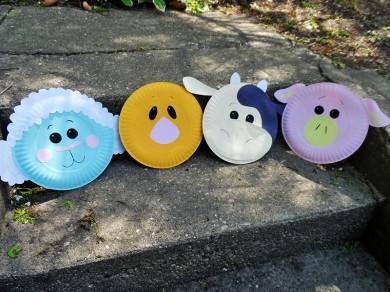 Paper Plate Farm Animals | Fun Family Crafts