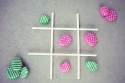 Rock Tic Tac Toe