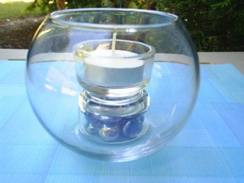 Tea LIght On A Pedestal