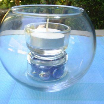 Tea LIght On A Pedestal