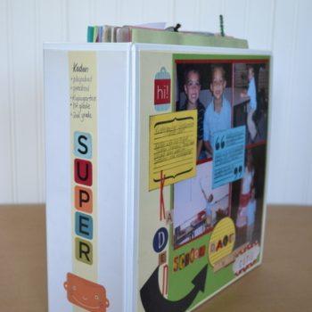 School Work Scrapbook