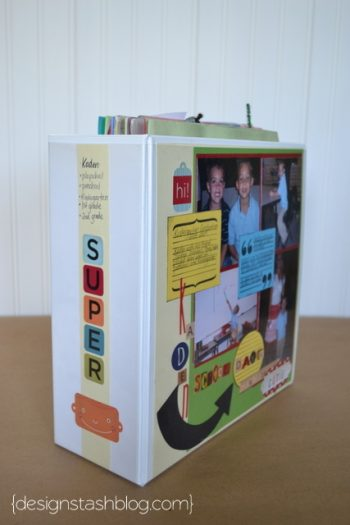 School Work Scrapbook