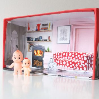 Shoe Box Doll House