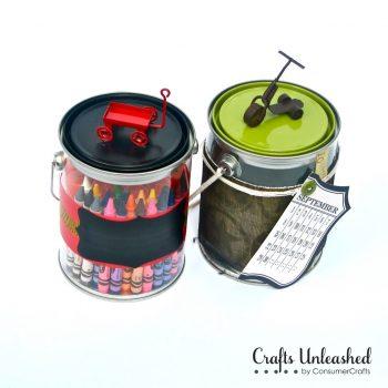 Paint Can Storage Pails