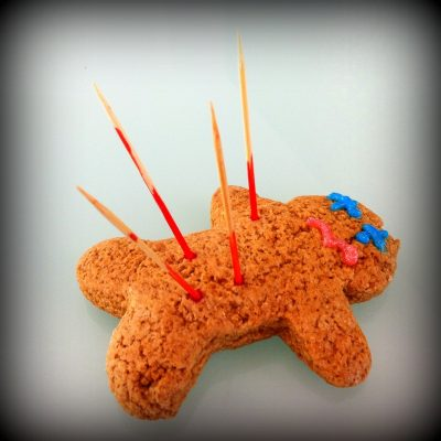 Gingerbread Voodoo Dolls