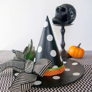 Polka Dot Witch Hat