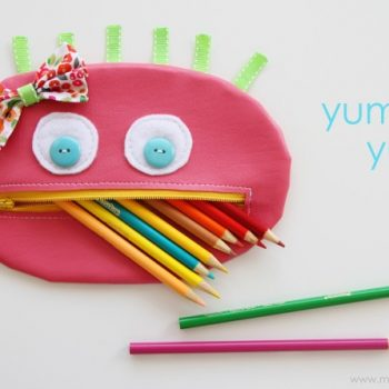 Zipper Mouth Pencil Case