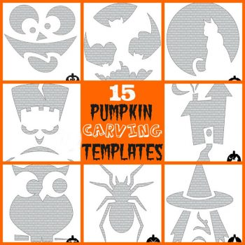 15 Pumpkin Carving Templates