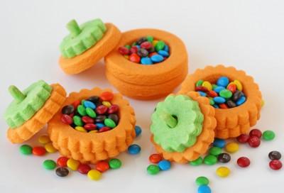 3D Pumpkin Cookies