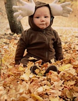 Baby Moose Costume