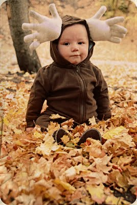 Baby Moose Costume