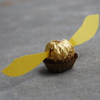 Harry Potter Golden Snitch Treat