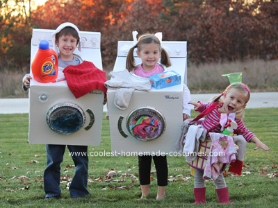 Laundry Halloween Costumes