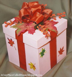 Autumn Leaves Box