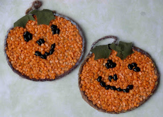 Mosaic Bean Pumpkins