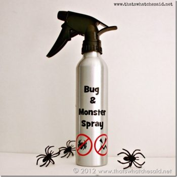 Bug & Monster Spray