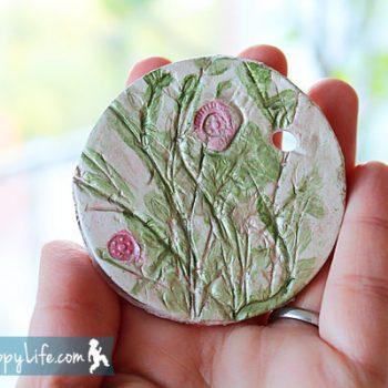 Clay Plant Impressions