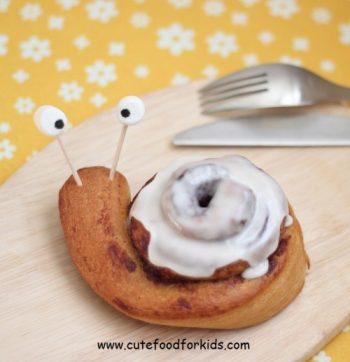 Cinnamon Roll Snail