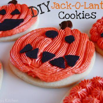 Jack-O-Lantern Cookies