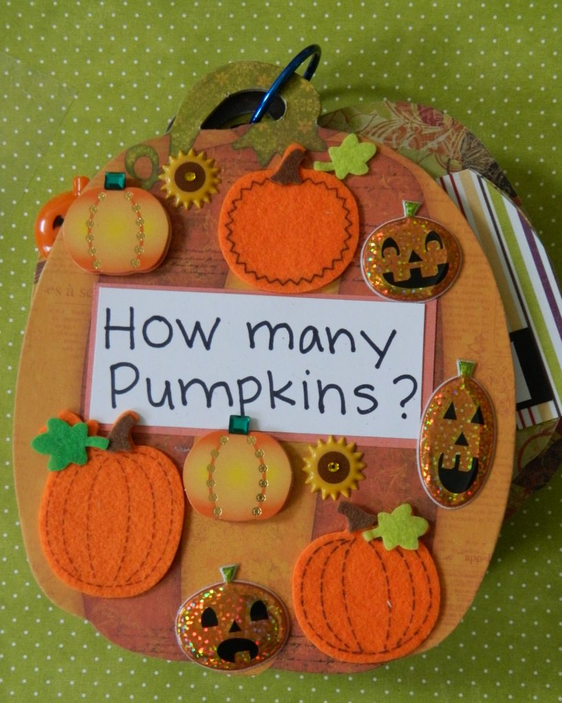 Pumpkin Counting Book
