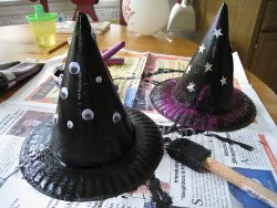 Easy Kids Witch Hats