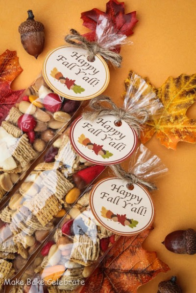 Fall Trail Mix and Printable