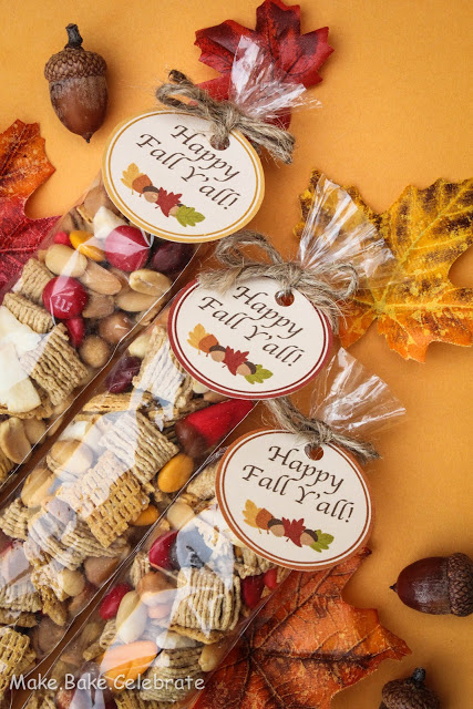 Fall Trail Mix and Printable | Fun Family Crafts