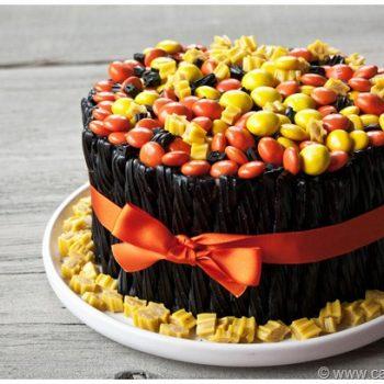 Fall Twizzler Cake