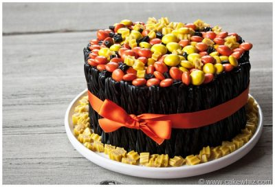 ... dessert you need. This Twizzler cake is totally in the holiday spirit