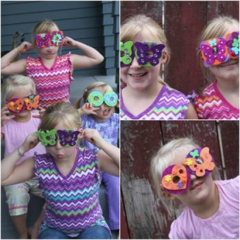 Goofy Foam Glasses