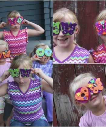 Goofy Foam Glasses