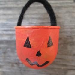 Gumball Dome Pumpkin Treat Basket
